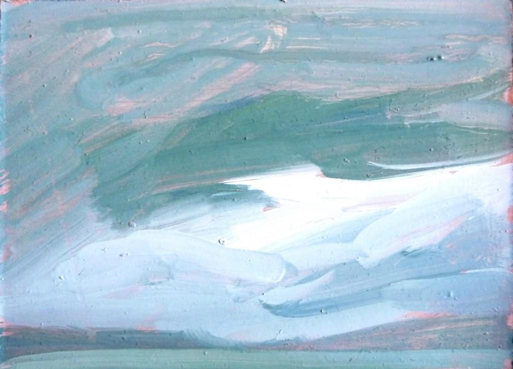 16.12.2013 Tadeusz Deręgowski-Clouds over the sea 2