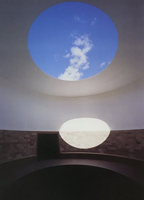 24.12.2013 Turrell Roden Crater Detail of Sky Tunnell 1977-present
