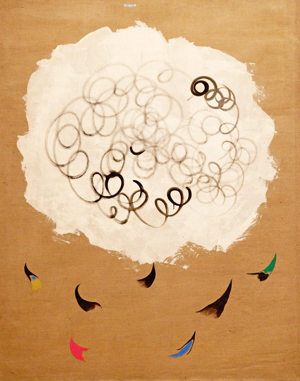 28.12.2013 Nuage et Oiseaux (Cloud and Birds) 1927 Joan Miró, Spanish, 1893–1983