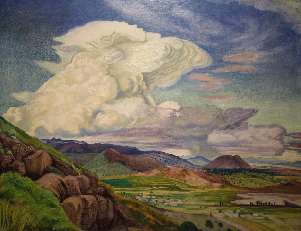 08.03.2014 Gerardo Murillo o Dr Atl, La Nube