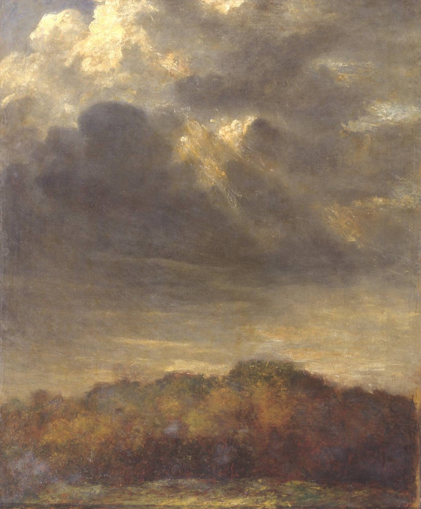 Study of Clouds circa 1890-1900 by George Frederic Watts 1817-1904