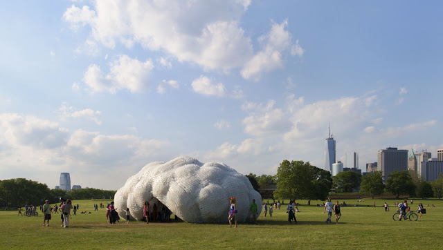 StudioKCA .  Head in the Clouds Pavilion . NYC  (1)