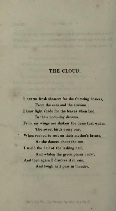 31.07.2014 Percy Bysshe Shelley_The Cloud